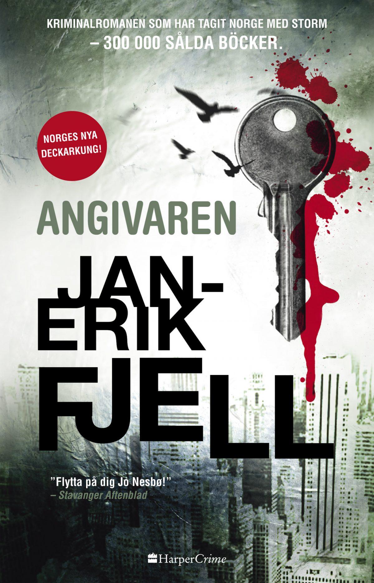 Angivaren – Jan-Erik Fjell  Alvesta Bokhandel