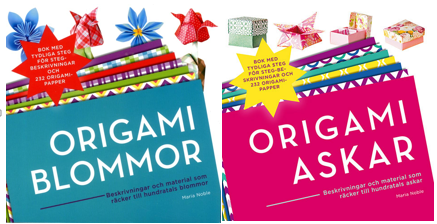 Origami – Storsäljare på Alvesta Bokhandel