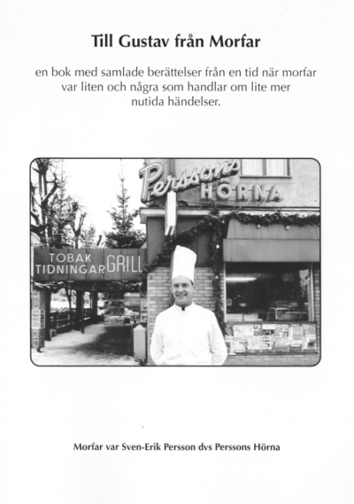 Till Gustav från morfar