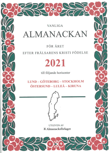 vanliga almanackan